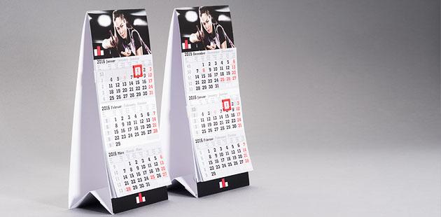 Bureau kalender staand standaard