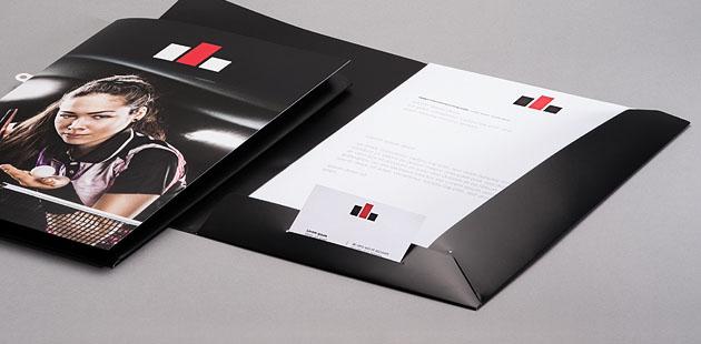 Presentatiemappen met tabbladen