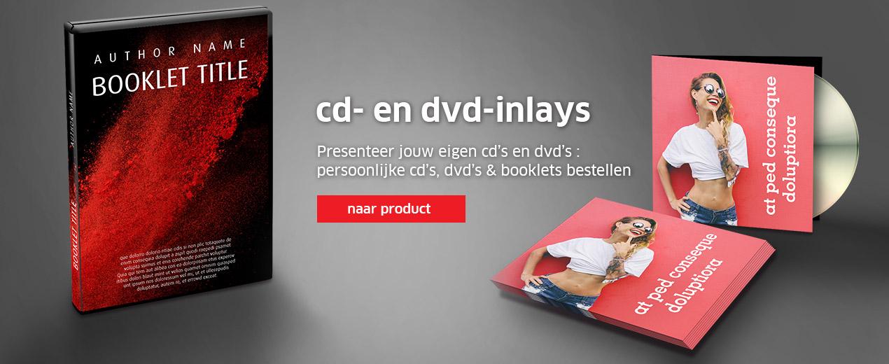 cd- en dvd-inlays