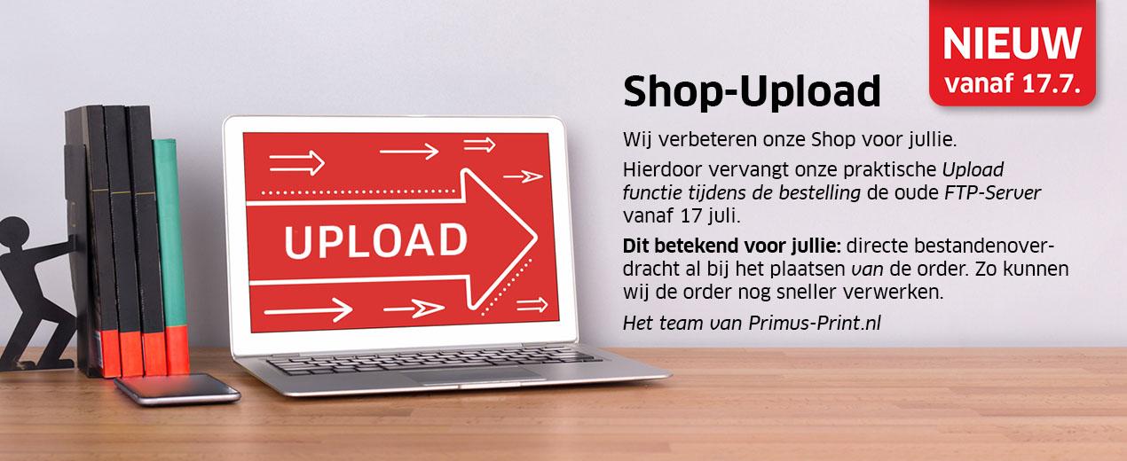 NIEUW: Shop-Upload