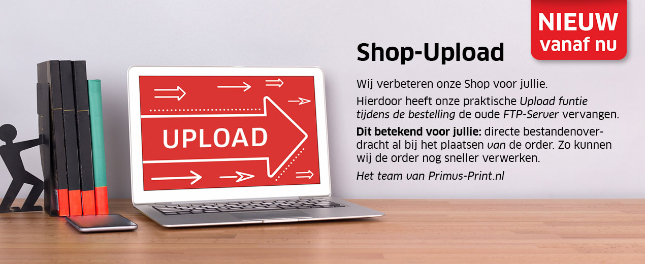 NIEUW: Shop-Upload